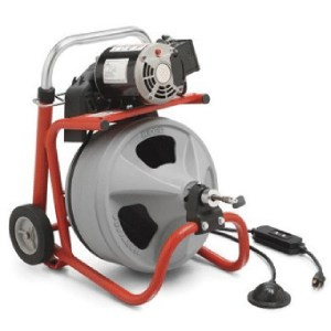General Minirooter 75 Ft Cable Drum Sewer Snake