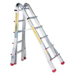 JAWS TELESCOPIC LADDER 7 FT STEP