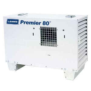 LB White Premier 80 Propane Heater Or Natural Gas Heater