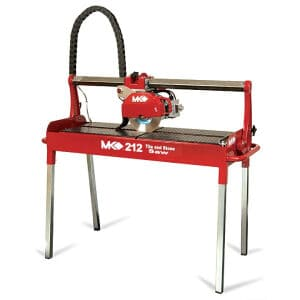 MK 212 Wet Saw Tile Work Category