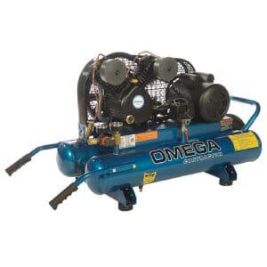 OMEGA PUK-1508MDC 3 HP Twin Tank Air Compressor