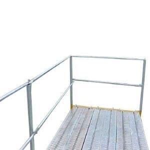 Scaffolding Guard Rails
