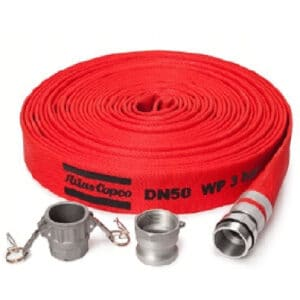 2 INCH FLAT DISCHARGE HOSE WITH CAMLOCKS